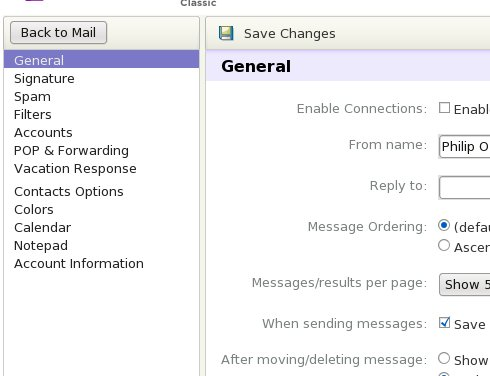 Where to really fix your name in Yahoo! Mail